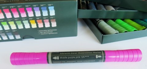 Albrecht Dürer Watercolour Markers Review Faber-Castell Lead Image