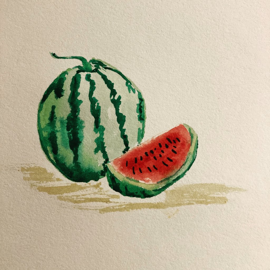 Fruit – A little watermelon. It's summer after all. D6D4CAF4-66CD-48F4-9BD3-8FDD94212B92