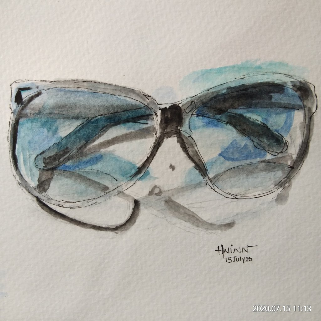 #doodlewashJuly2020 #worldwatercolormonth2020 #Beginner #15 #Forgotten #15July2020 Hello…every