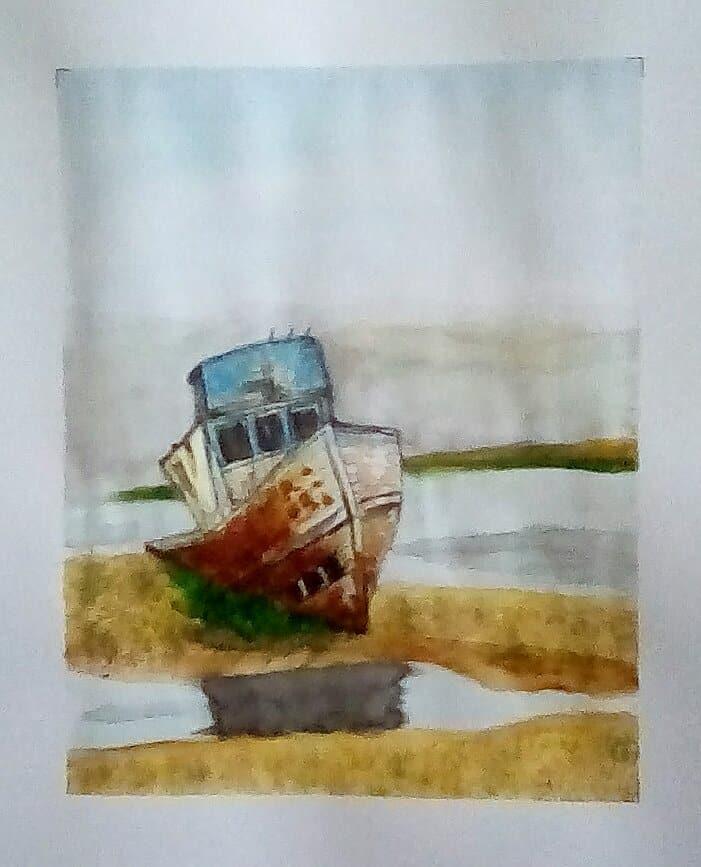 """Today's watercolor challenge """"Yesterday"""" IMG_20200728_173044_hdr_kindlephoto-17136"""