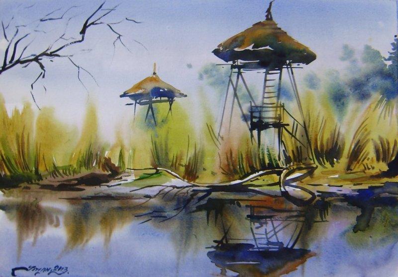ishan_pariyar_watercolor_on paper_28x40cm_2013