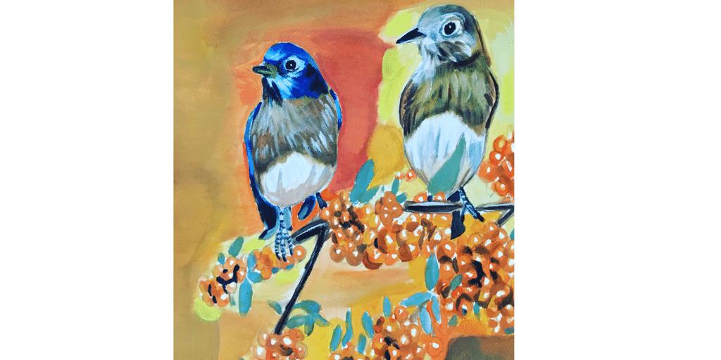 birds view on nature. medium: watercolor BBA0CE0F-2843-402D-B6F4-866C64894E38