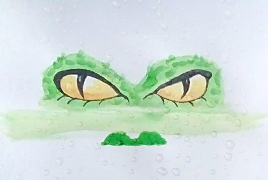 "Today's watercolor challenge ""Gator"" IMG_20200803_141456_hdr_kindlephoto-214627239"