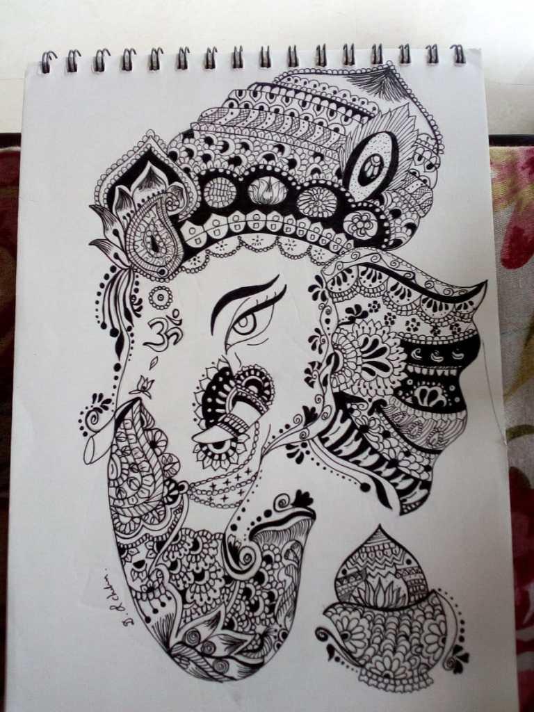 Mandala art IMG_20200827_130007
