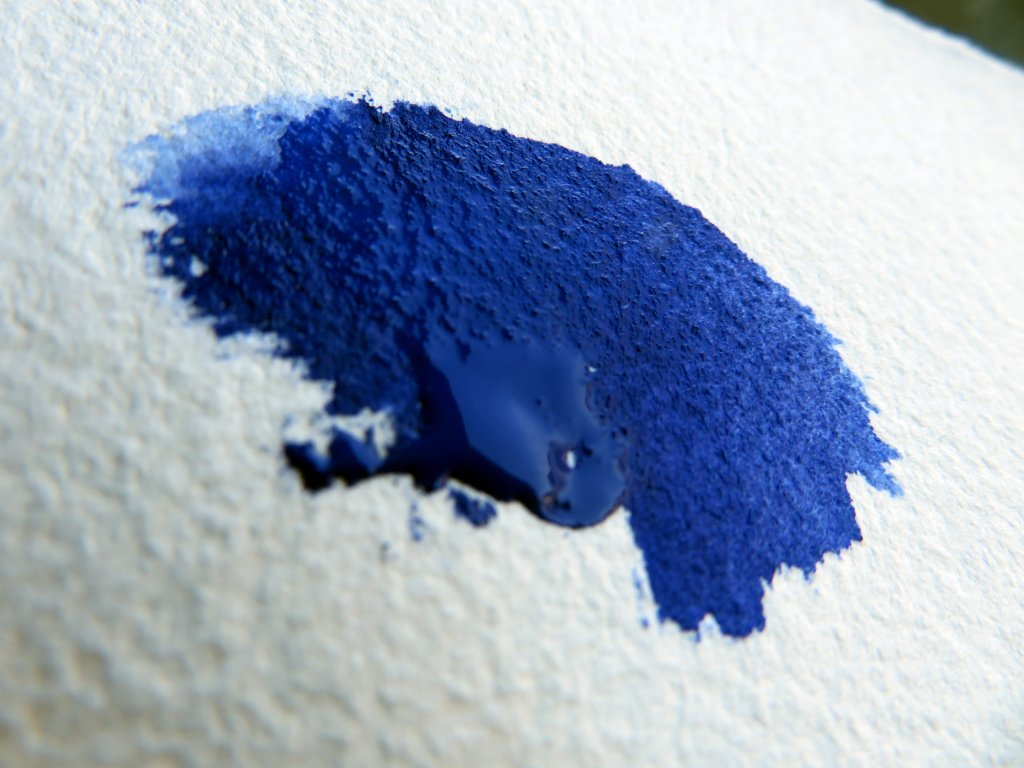 YinMn Blue Watercolor Example