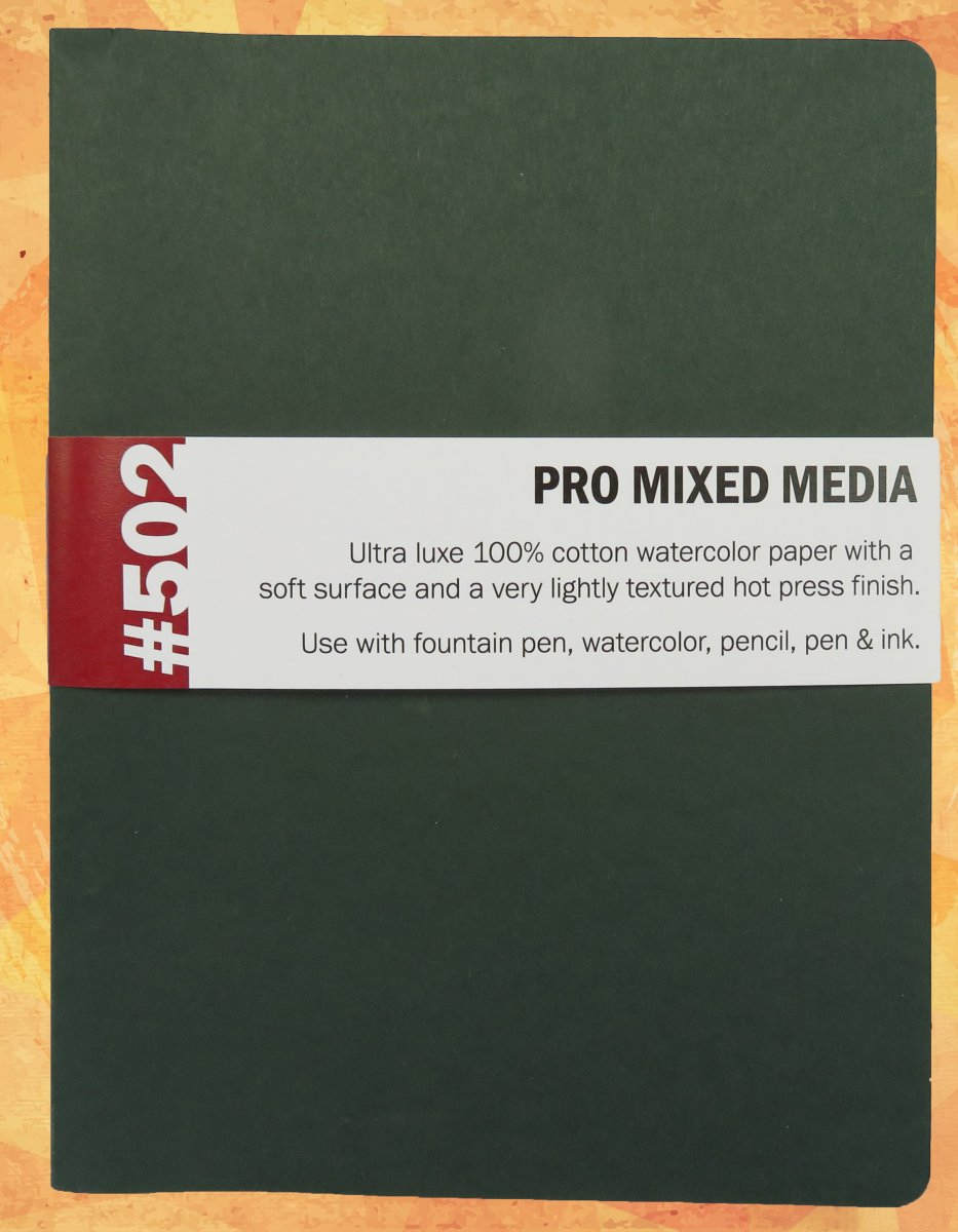 St. Louis Art Supply #502 Pro Mixed Media Journal