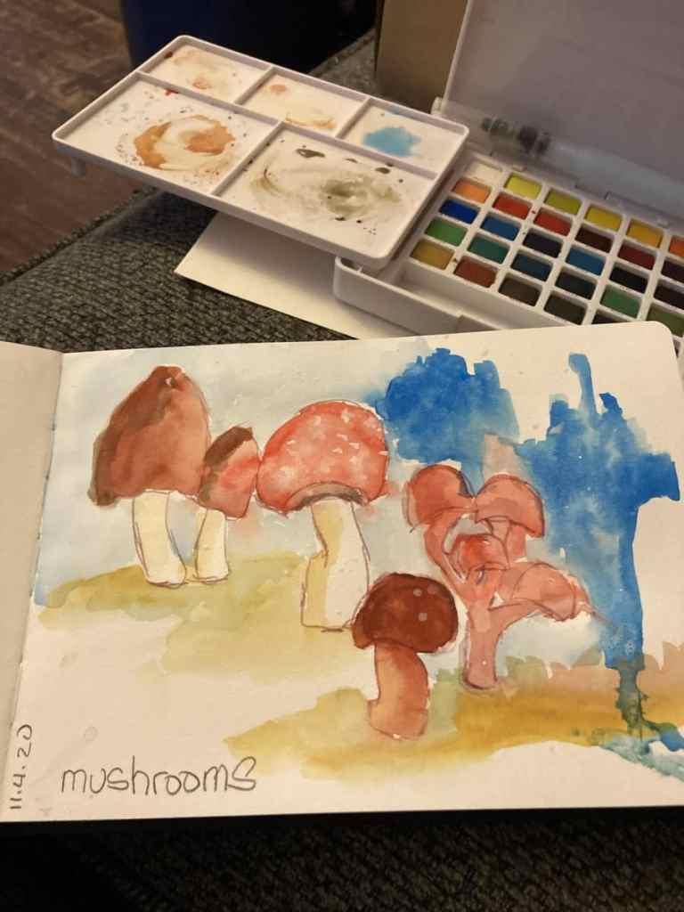Mushrooms day 4 1C2257A0-6C56-4DD9-879C-9C5D6181069C