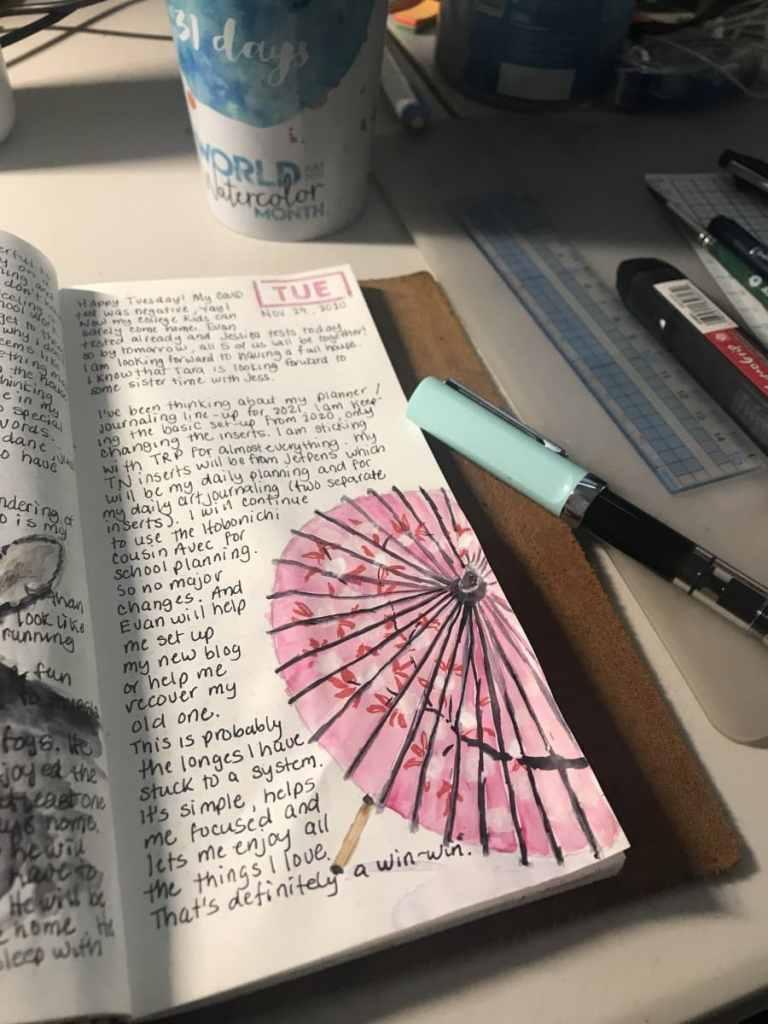 A little Japanese umbrella for today. Happy Tuesday! B709DB54-FDA2-4632-9B77-6D443DE97BBC71E1ADB5-17