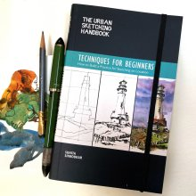 The Urban Sketching Handbook Techniques for Beginners Book Photo