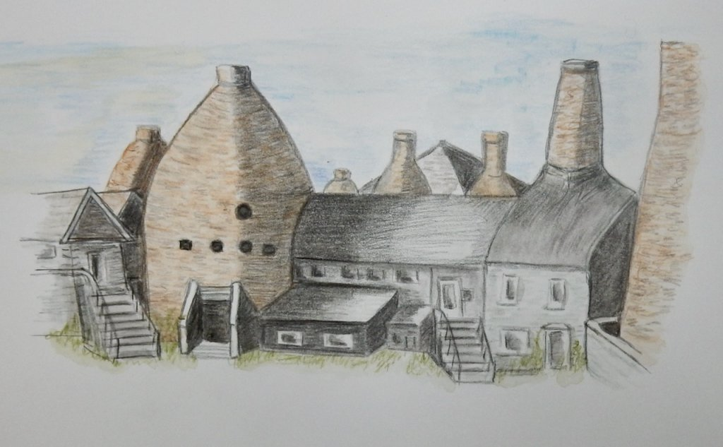Doodlewash dec:challenge not sure whether SANTA would choose these chimneys, but they are always wor