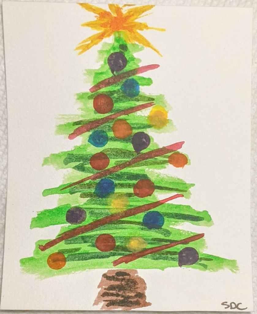#doodlewashdecember2020 12/11/20 Evergreen PXL_20201210_200423529~2