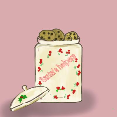 procreate and apple pencil cookie