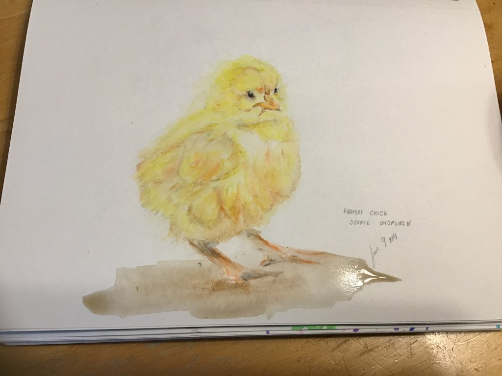 Prompt: chick 1CC49A02-EC33-4149-B0AA-B0DE41967DBF