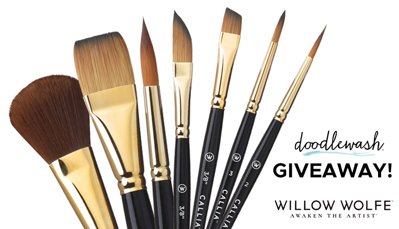 Willow Wolfe Callia Brush Giveaway January 2020 Sharing Image