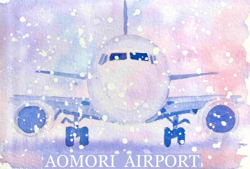 """Aircraft"" 青森空港は積雪量日本一の空港です。 A461340C-53AA-411A-9599-3363D26C4"