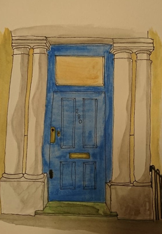 William Thackers front door from the film Notting Hill. EDE6775E-BF5E-4E2C-B3D0-7FF41C302ED7