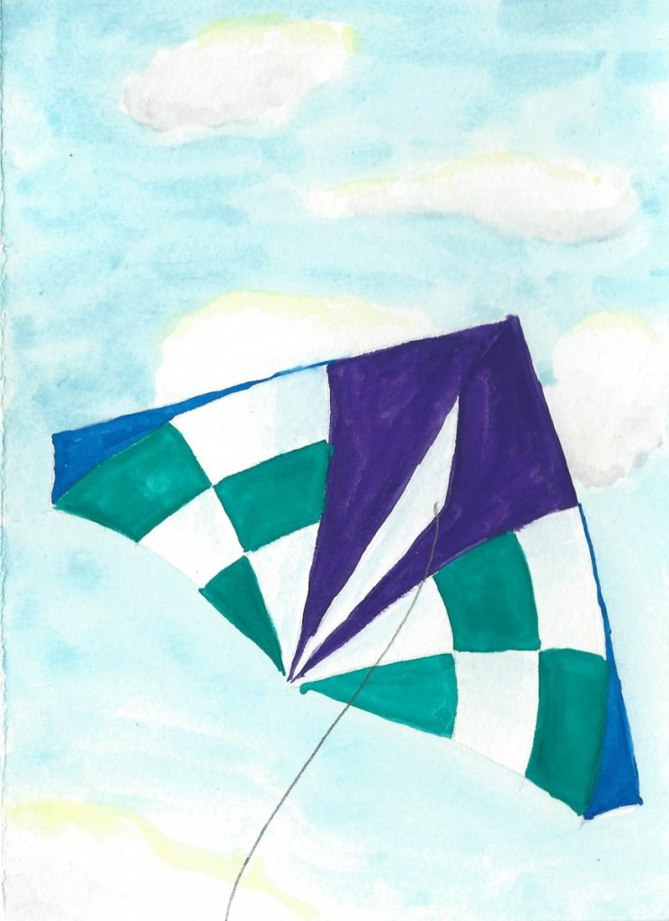 Soaring… Kite card