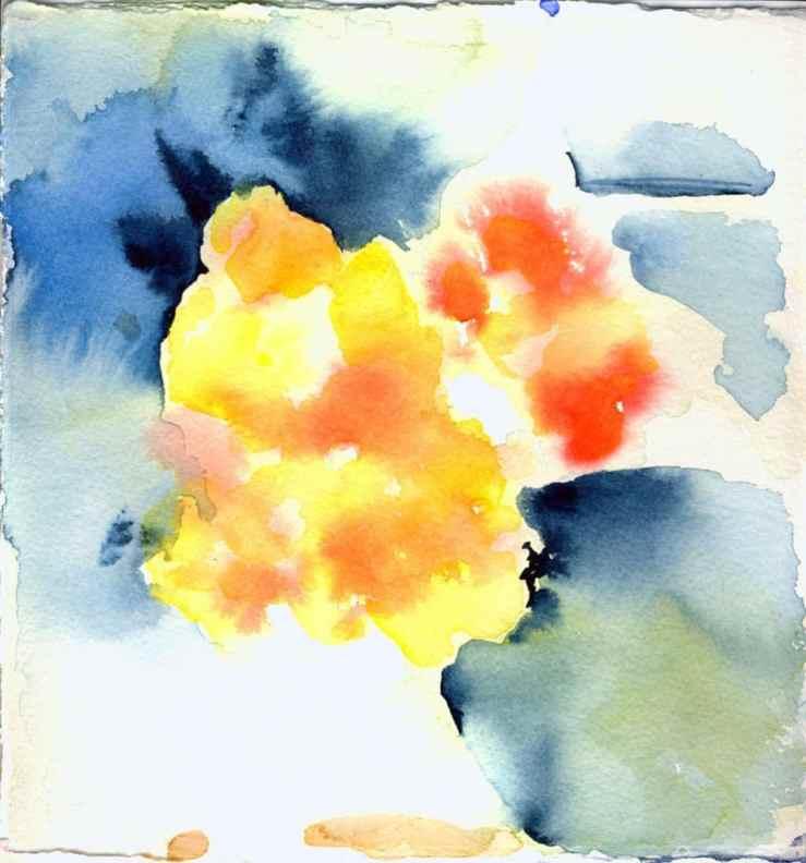 colour & contrast watercolour study