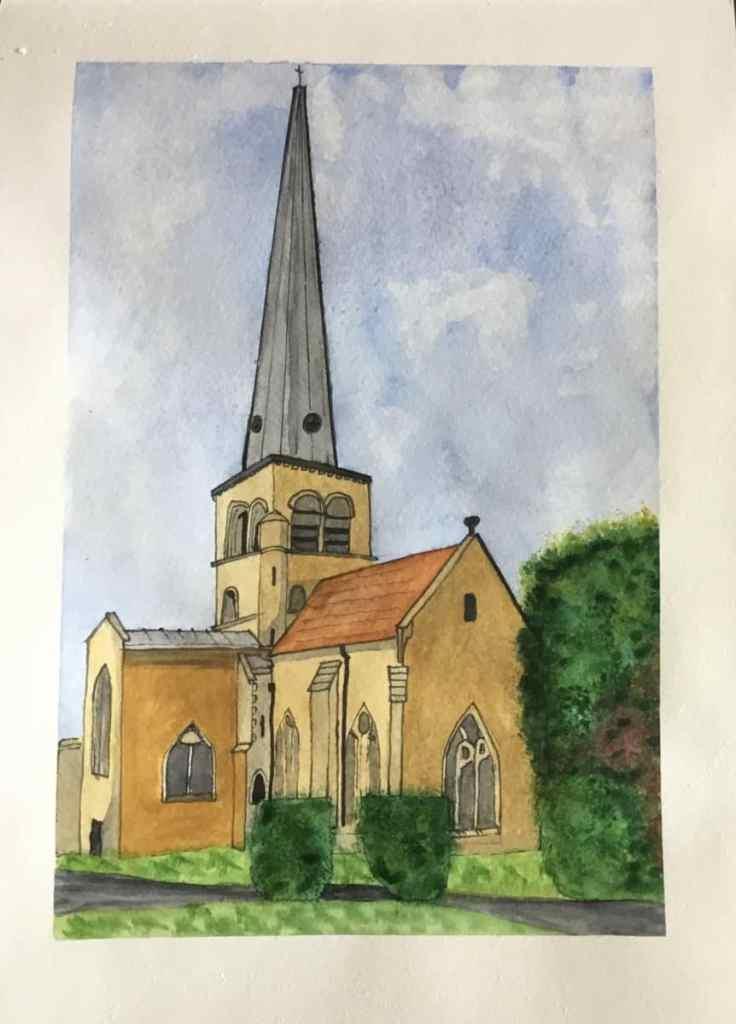 St Mary's church, Hemel Hempstead, where I got married 84853230-8F5C-45CE-8938-901039CFC4C6