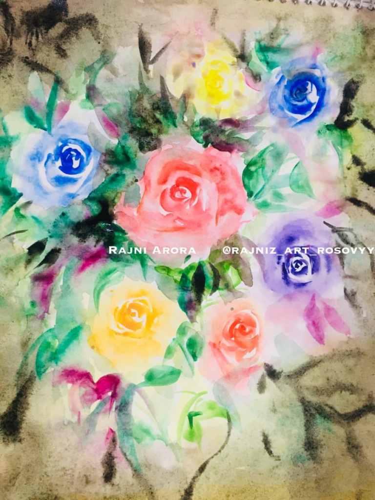Colors of Rainbow VIBGYOR, beautiful bouquet oF roses 9CB1AC78-37FE-4CB5-B81C-2F7A290C8FE6