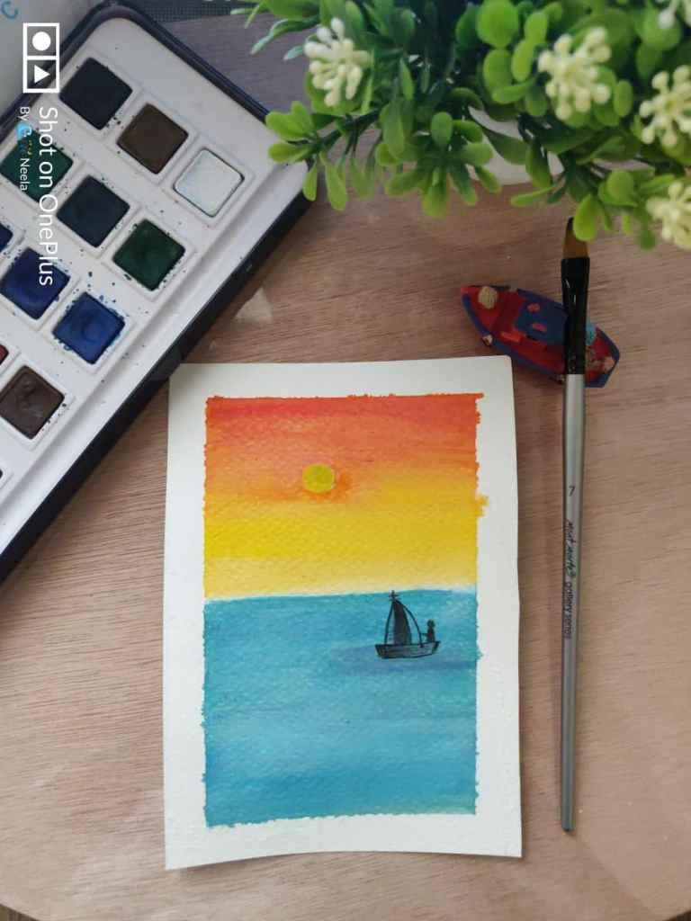 Self taught artist & art creator. Watercolours, acrylics, mandala, miniatures, all art things I