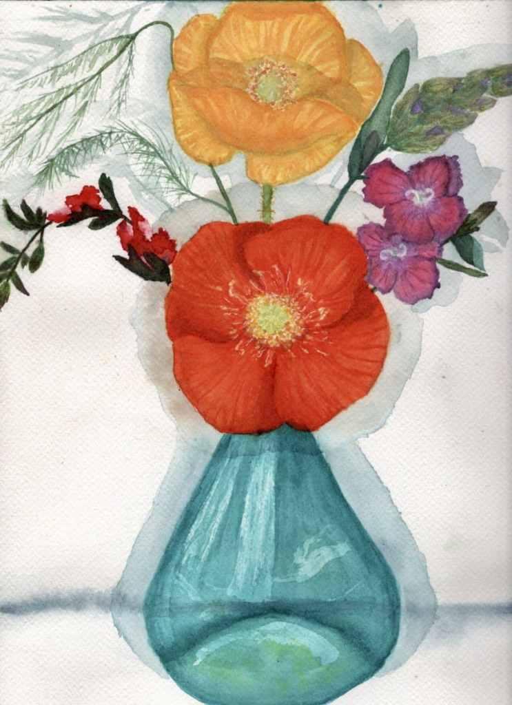 Autoportrait of a bouquet from my balcony BD70ECDD-F7CA-4B76-96BC-85C21B7F3A3A