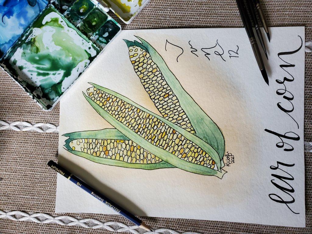 Day 12- ear if corn 20210612_135718