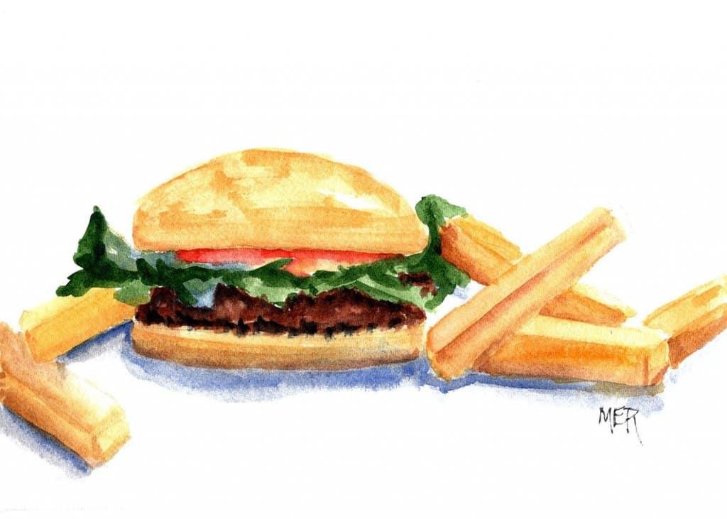6/22/21 Hamburger and Fries 6.22.21 Hamburger and Fries img001