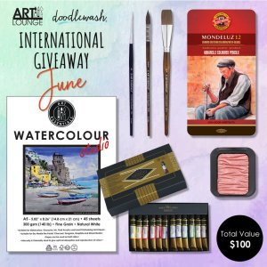 Doodlewash ArtLounge giveaway 6