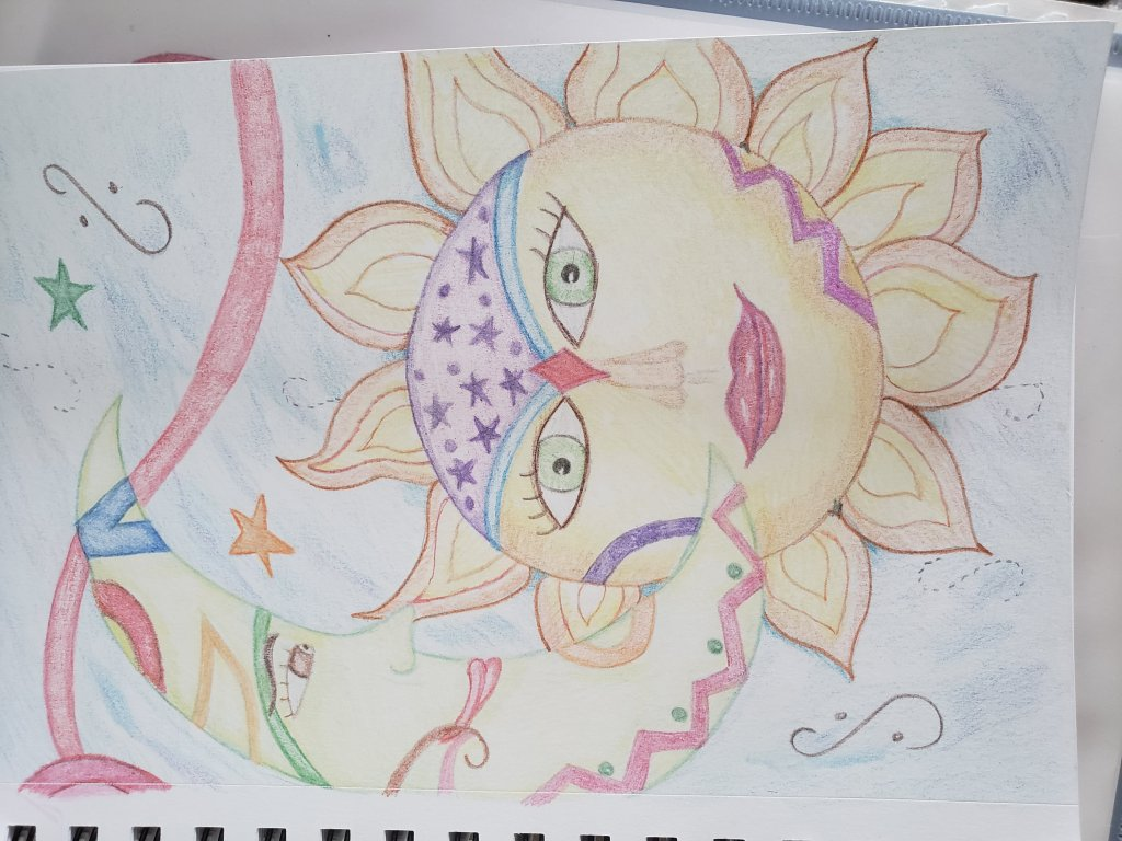 A drawing i did for oldest daughter. 20210630_140517