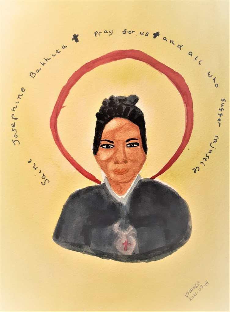 2021-07-14 Faithful: Canossian Sister and former slave, St. Josephine Bakhita, is the patron saint o