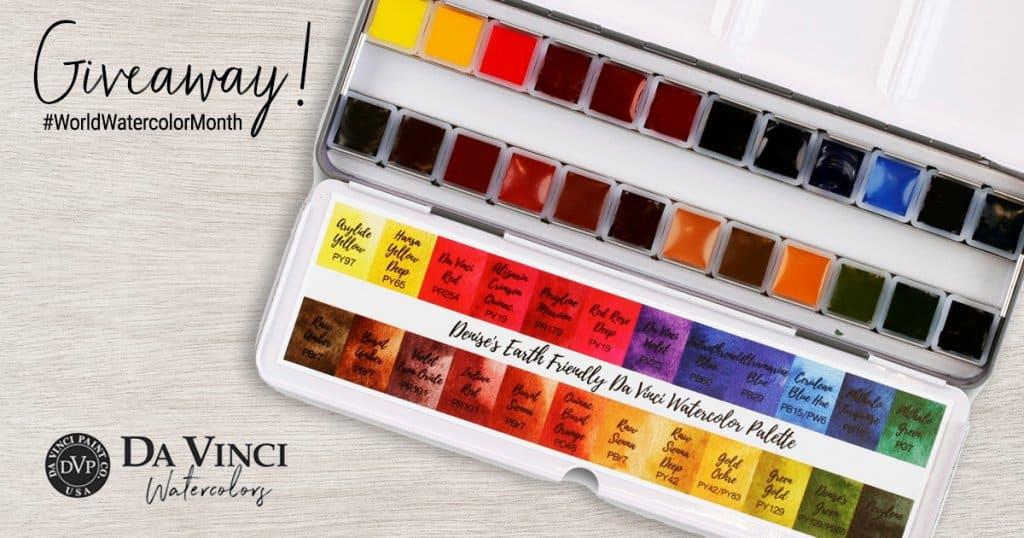 Da Vinci Denise Palette Giveaway Sharing Image WWM 2021