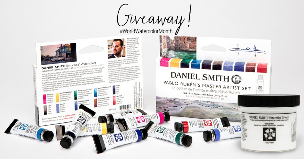 Daniel Smith Watercolor World Watercolor Month 2021 Sharing Image