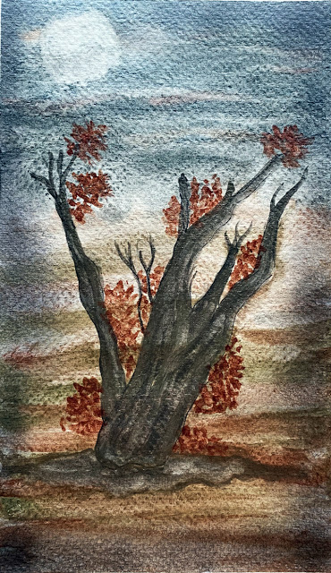 Day 9 of World Watercolor Month. ZenART Supplies Artist Luminaries are celebrating watercolor and it