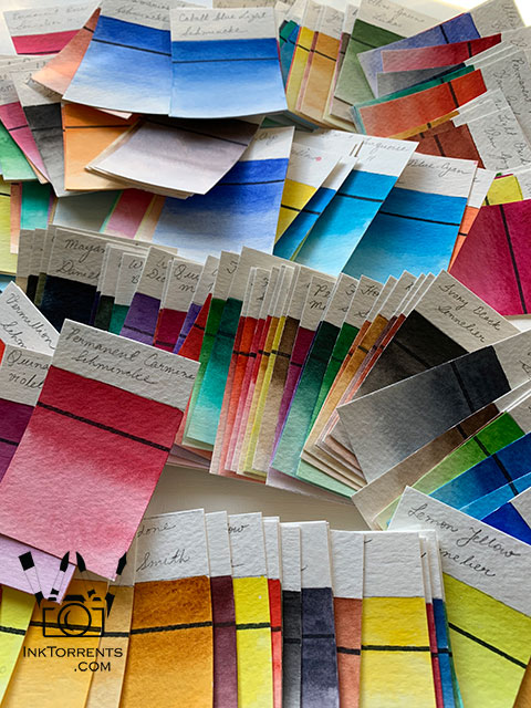Hi everyone! I have been meticulously making paint swatches for all the paint I have. Quite a few Va