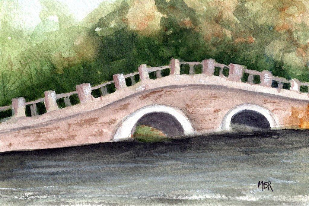 9/9/21 Bridge I used a Pixabay reference image by Lancier. 9.9.21 Bridge img001