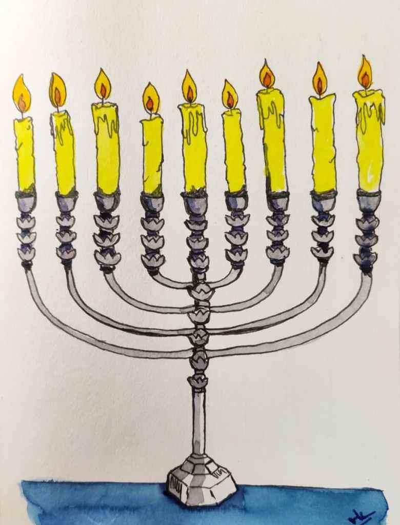 Day 15 Prompt: Candle #doodlewashSeptember2021 Candle_Varsha Koli