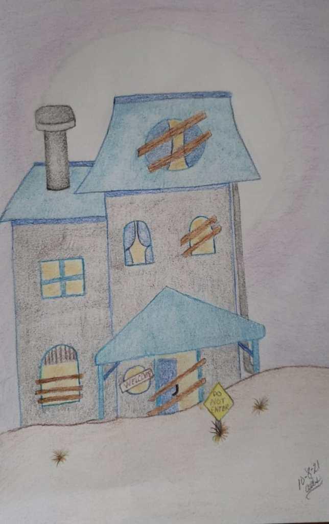 Day 13: house #doodlewashOctober2021 20211008_175725
