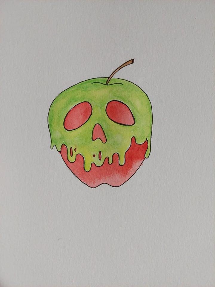 Day 10: Apples. poisonapple