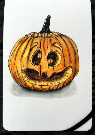 Jack-o'-lantern by Charlie O'Shields