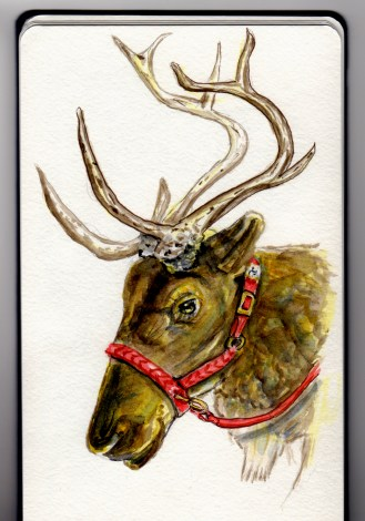 Randy the Reindeer - Doodlewash by Charlie O'Shields
