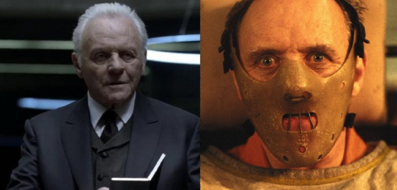 anthony hopkins westworld silence of the lambs