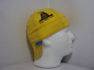 Embroidered Don't Tread On Me Welding Cap