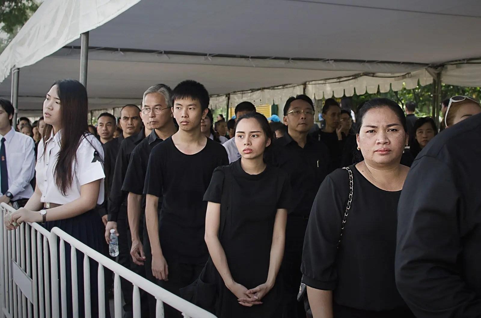 Bangkok, 26 ottobre 2017, Il funerale del re | ©Joyce Donnarumma, 2017