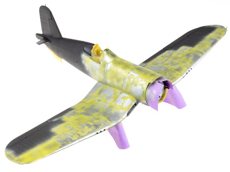 Painting Tamiya's 1/32 F4U-1 Corsair – Doogs Models