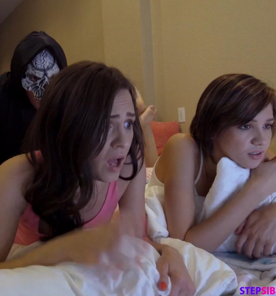 หนังโป๊ฝรั่ง เต็มเรื่อง ซับไทย SUBTHAI เรื่อง หนังสยอง หลอนจนเสียวตัว Step Siblings Caught