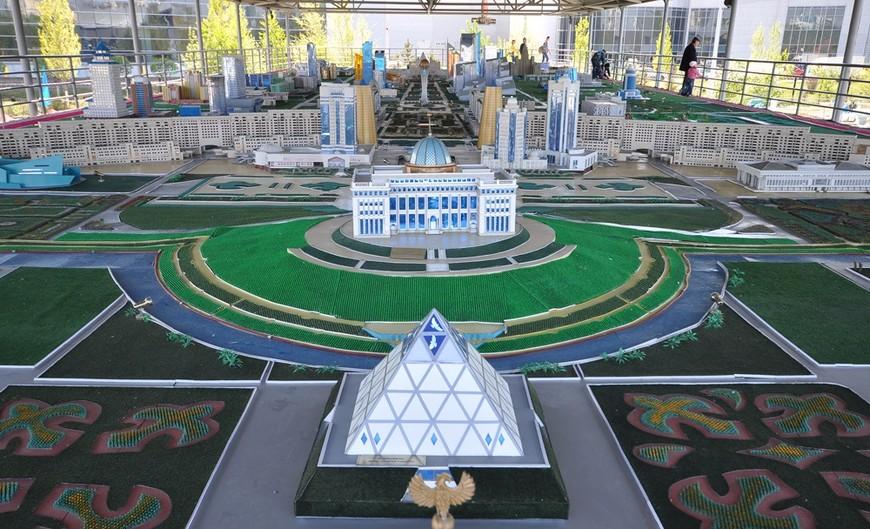 Atameken Ethno-Memorial Complex, Astana