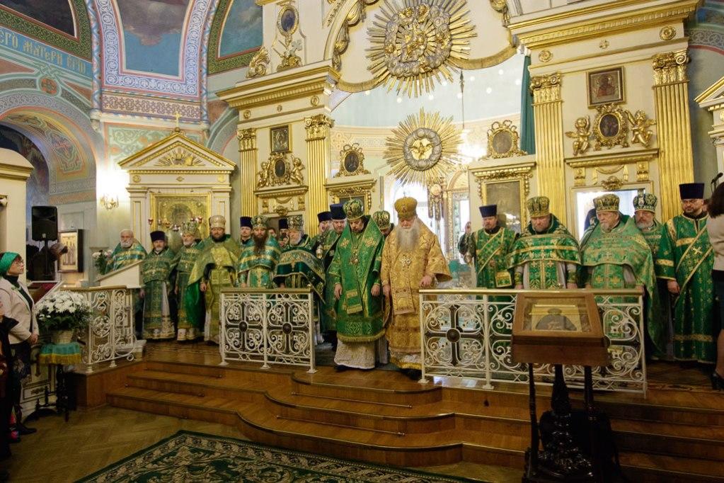 Chapel of St. Xenia of St. Petersburg