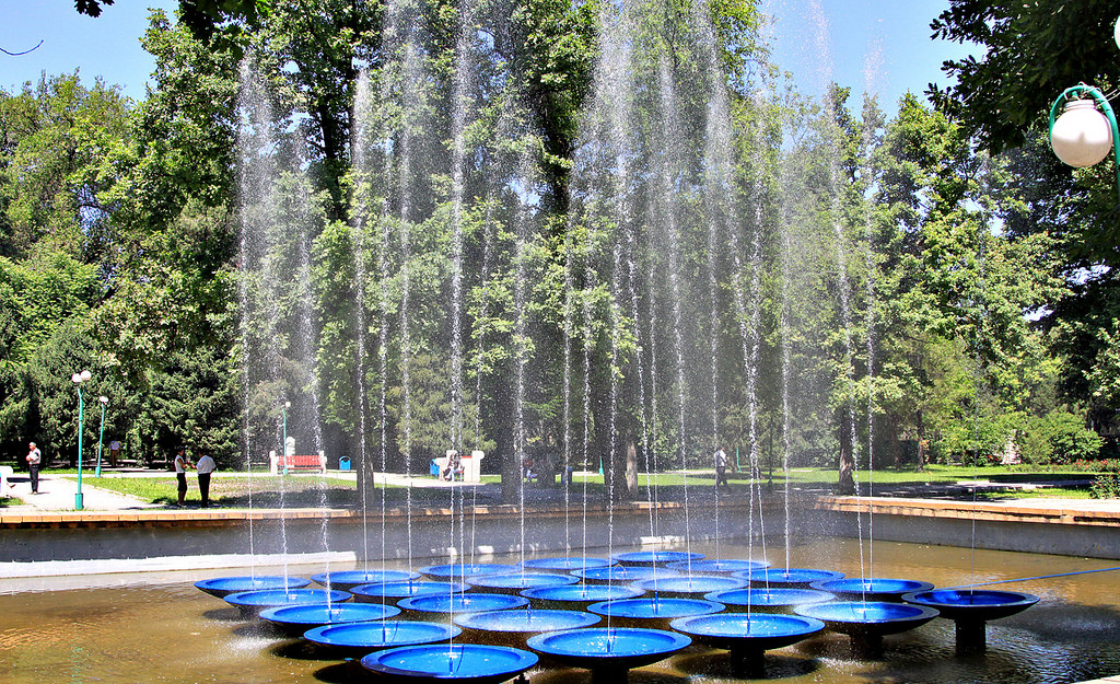 Dubovy Park Fountain