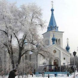 Holy Resurrection Cathedral Winters
